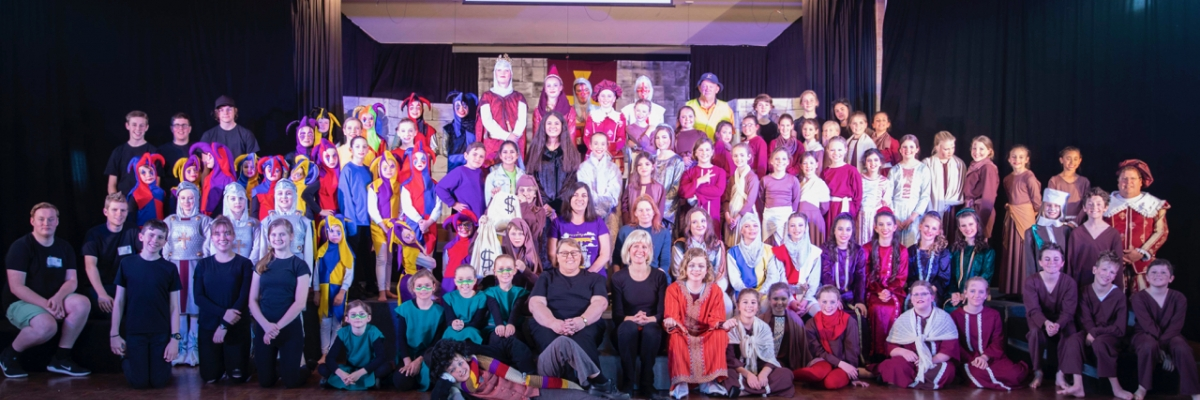 Good Samaritan school community puts on Camelot performance spectacular!