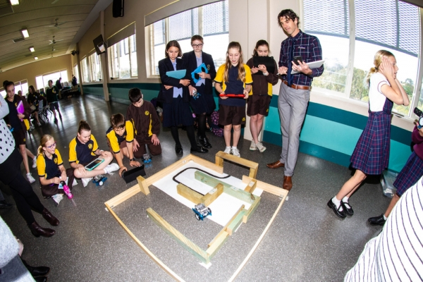 CEDoW's mBot coding competition challenges primary and secondary students