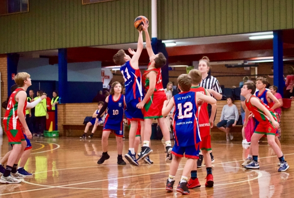 Illawarra schools proudly represent the Diocese at NSW Catholic Primary Schools Basketball Challenge