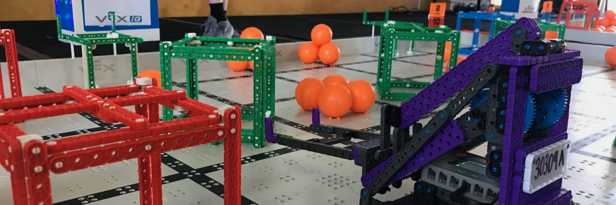 Coding, creativity and communication success at CEDoW VEX Robotics Final