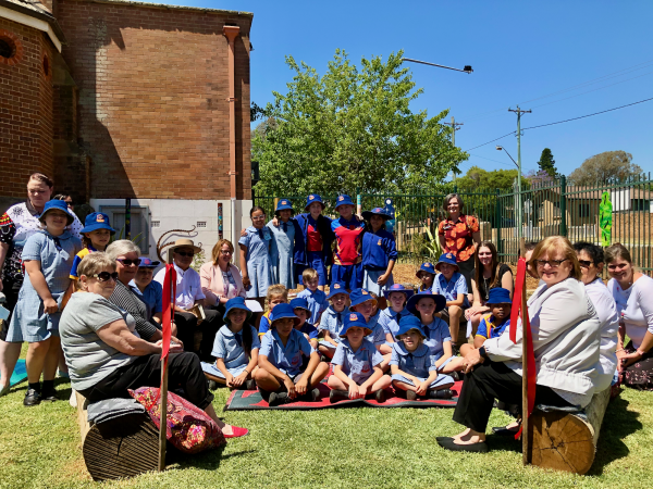 St John's Campbelltown celebrates tradition and storytelling with new school yarning circle