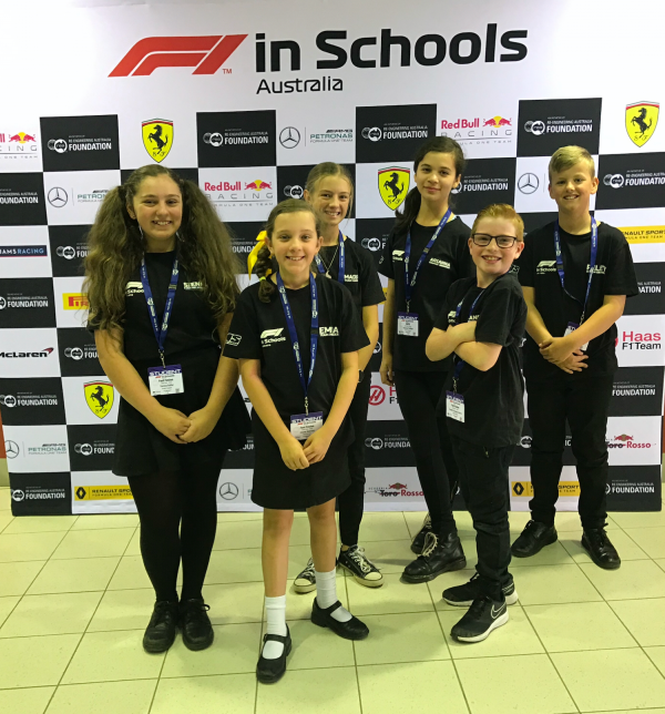 St Anthony's Picton in pole position for F1 in Schools success