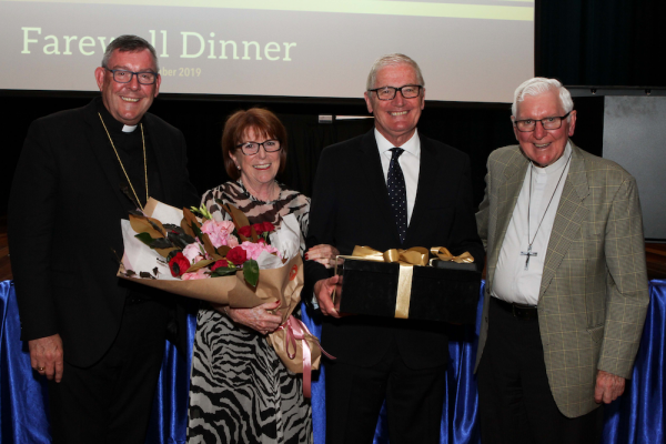 Retired CEDoW Director of Schools, Peter Turner, honoured at farewell celebrations