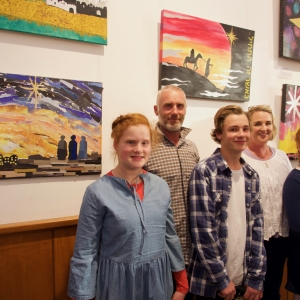 CHRISTMAS ART EXHIBITION OPENNING 13