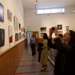 CHRISTMAS ART EXHIBITION OPENNING 4