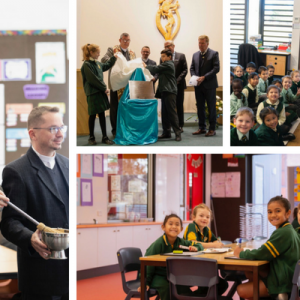 180601 EAGLE VALE NEW LEARNING SPACE BLESSING 96