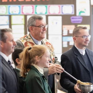180601 EAGLE VALE NEW LEARNING SPACE BLESSING 41