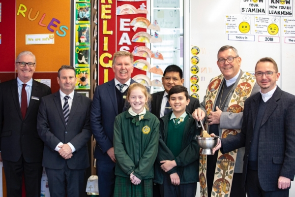 Mary Immaculate, Eagle Vale welcomes official opening and blessing of new learning facility