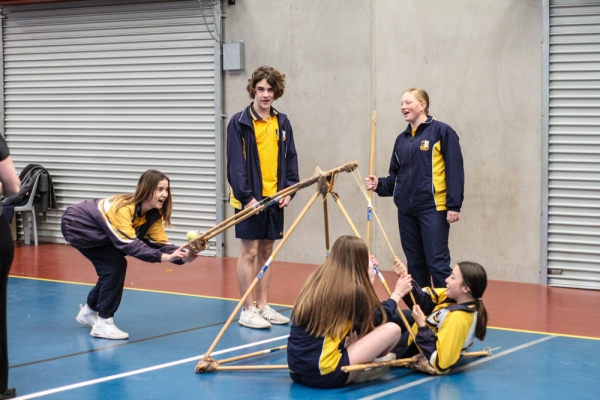 St John's Nowra students step up to STEM Immersion Day challenge