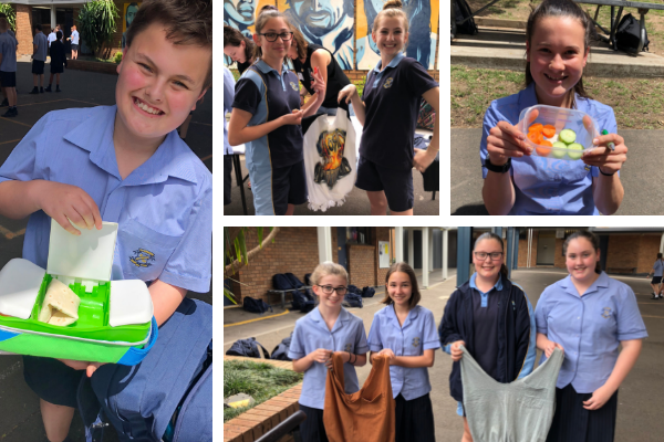St Joseph's Albion Park leads the charge on EnviroWeek action