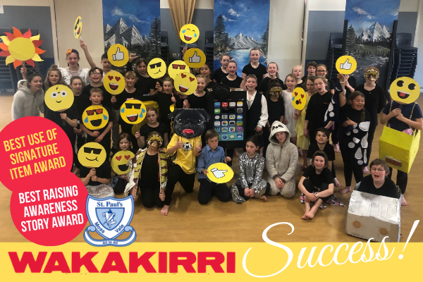 Wakakirri success! St Paul's Moss Vale wins two performance awards