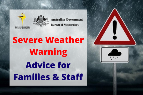 Severe Weather Warning: Advice for Families and Staff