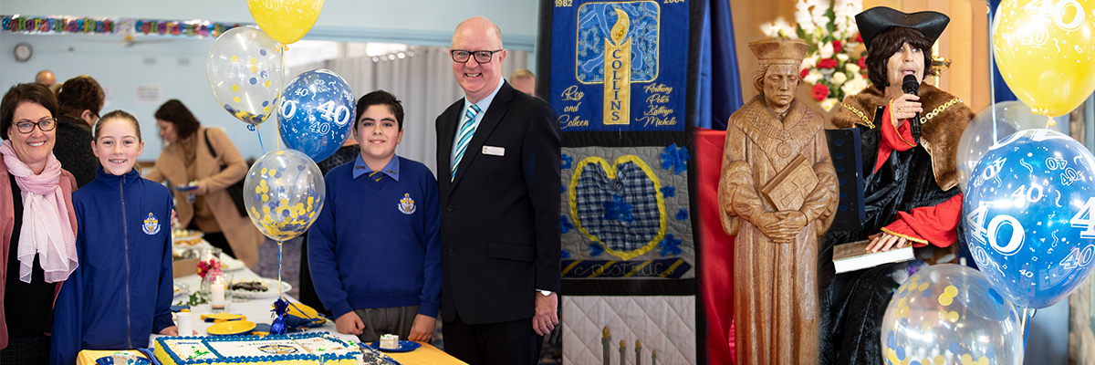 St Thomas More Celebrates Feast Day and 40th Anniversary of the School