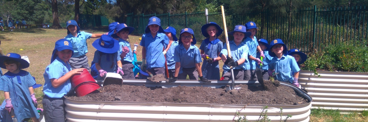 Holy Cross Helensburgh gardens grow student learning