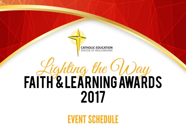 faith and Learning awards poster