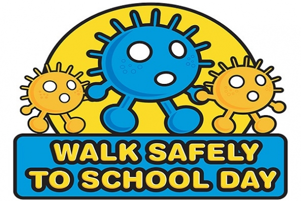 Walk Safely to School Day 2019 5cm