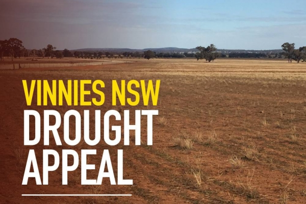 Drought Appeal Vinnies