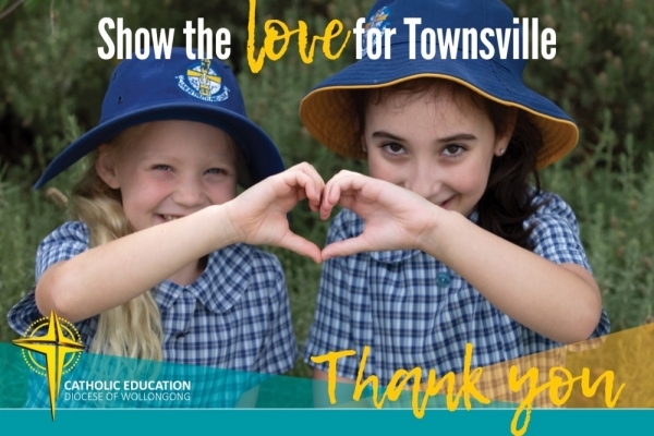 Thank you Show the Love for Townsville