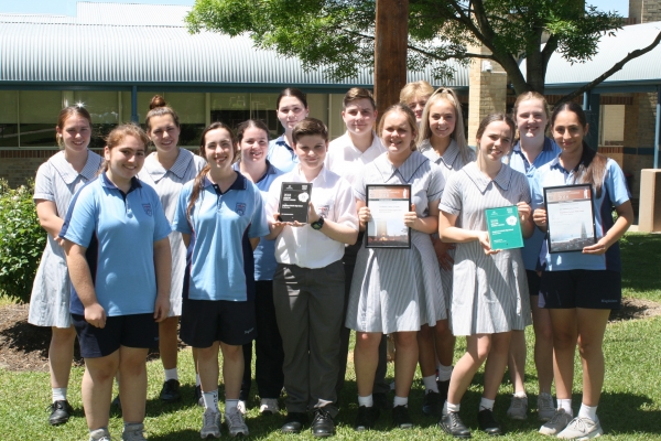 181211 Magdalene ANZAC Group photo with awards