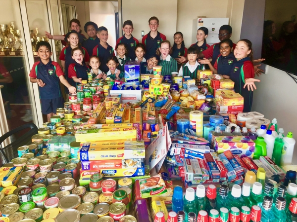 CEDoW schools give generously to Vinnies Winter Appeal