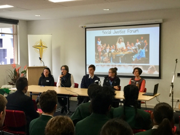 Catholic secondary students gather for CEDoW social justice forum