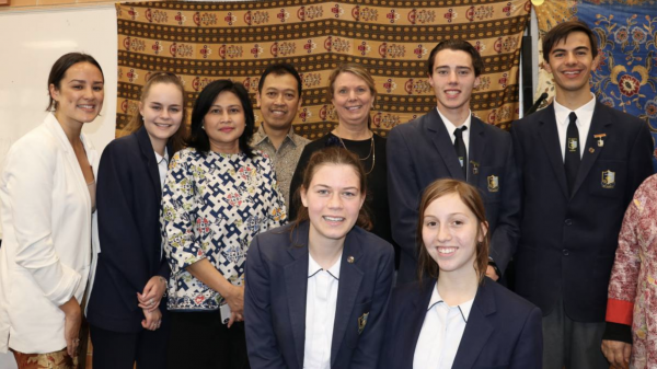 Students savour Indonesian cultural experience at St John's Nowra