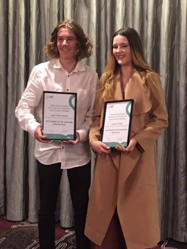 St John's students stand out at Shoalhaven VET Awards