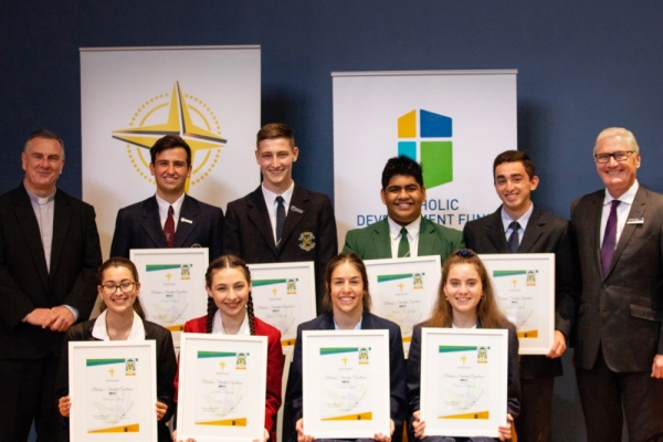 Year 12 students recognised at Bishop's Student Excellence Awards 2018