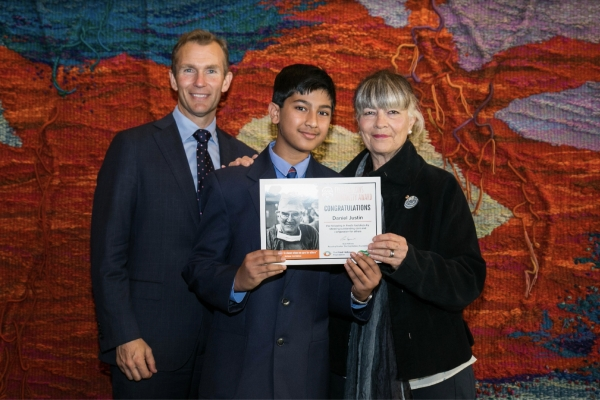 St John's Campbelltown student's humanity recognised with Fred Hollows award