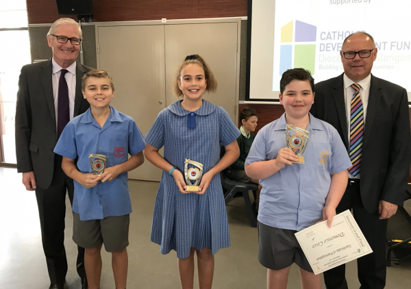 Best of our primary school public speakers compete at Diocesan grand final