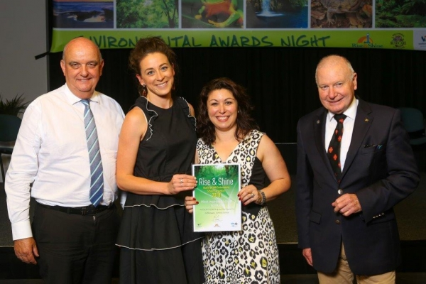 St Michael's Thirroul rises and shines with environment award