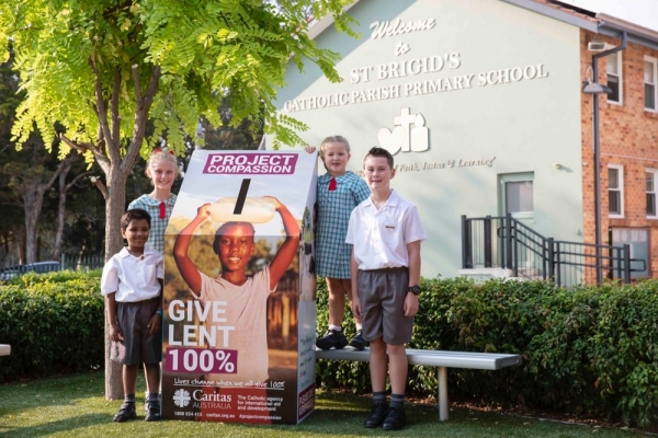 'Give Lent 100 Percent': Wollongong Students Launch Project Compassion for 2019
