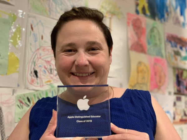 St Joseph's Bulli teacher Michelle Bunder named Apple Distinguished Educator