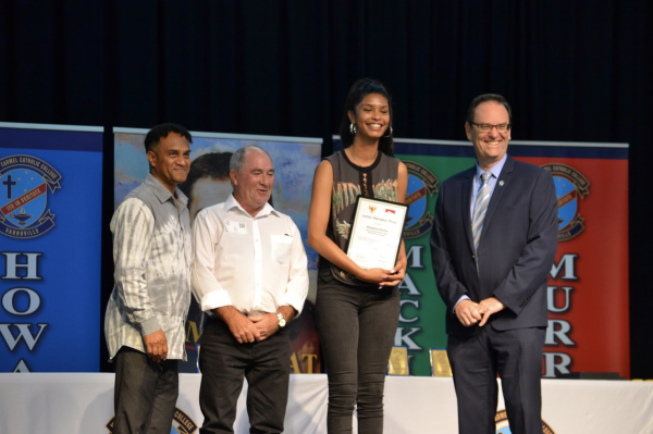 Mount Carmel Varroville celebrates their HSC High Achievers success