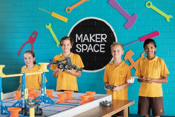 New Makerspace at St Therese