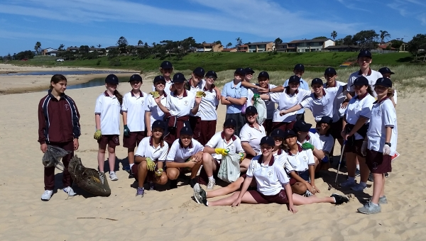 Beautifying Bellambi Beach