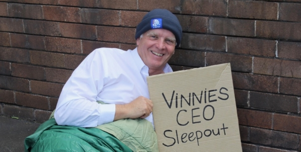 'Everyone has the right to a home': 2019 Wollongong Vinnies CEO Sleepout