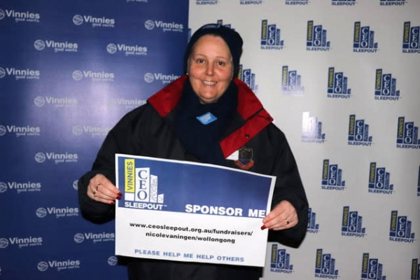 CEDoW community raises $11,186  for Vinnies CEO Sleepout