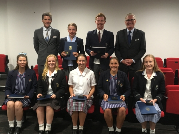 Wollongong students star at NSW Combined Catholic Blues Awards
