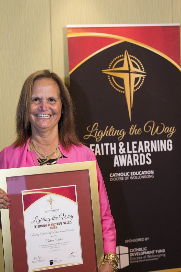 St Paul's Albion Park Principal, Colleen Easton wins prestigious Lighting the Way Award