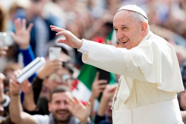 Pope Francis writes to young people – the 'now of the Church'