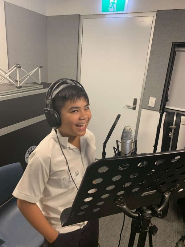 Talented Student Composes Orginal Song to Celebrate Holy Week