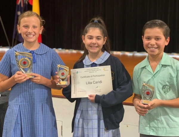 Catholic Development Fund Diocesan Public Speaking Competition