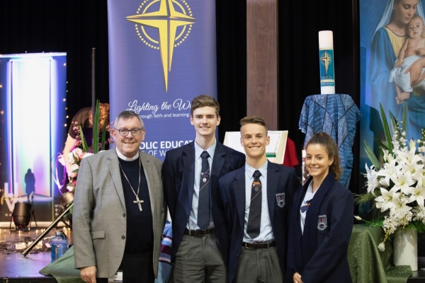 Faith, Hope and Love: Year 12 Gatherings with Bishop Brian Mascord