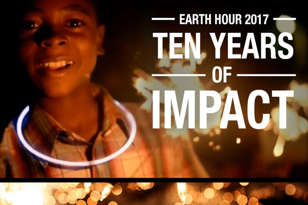 EARTH HOUR Schools Day - Friday 24 March